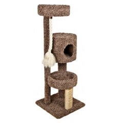 Three Story Tower Rope Cat Scratcher