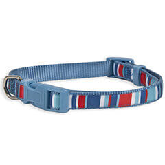 Aspen Pet Bandana Stripes Collar, Small