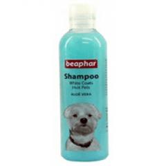 Beaphar - Shampoo White coats Hvit pels Aloe Vera 250ml