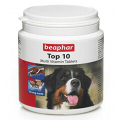Beaphar Top 10 Multi Vitamin Tablets