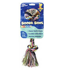 Booda Rope Bone Multi Color Large Size