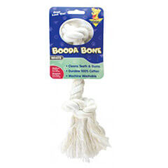 Booda Rope Bone White Color Medium Size