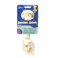 Booda White Color Rope Bone Small Size