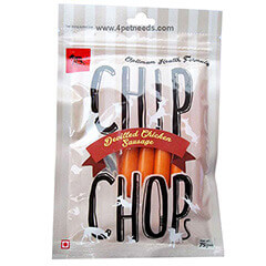 Chip Chops Chicken Sausages Dog Snacks, 75g(Pack of 10)