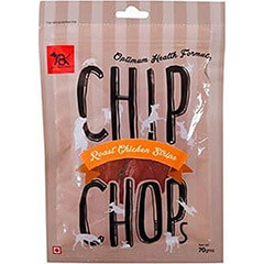Chip Chops Chicken Strips Dog Snacks, 70 g