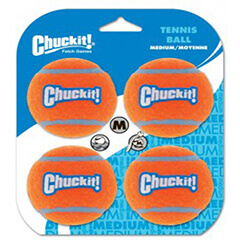 Chuckit! Tennis Ball Medium (Correct)4pk