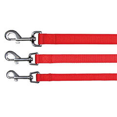 Trixie Classic Lead Red XS-S: 4ft./15 mm
