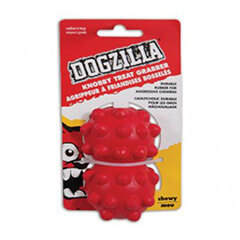 Dogzilla  Knobby Treat Grabber Medium Pack