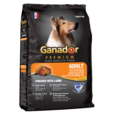 DOG FOOD GANADOR CHICKEN WITH LAMB 20KG