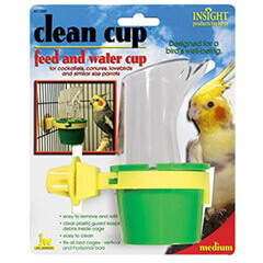 JW Clean Cup Feed & Water Cup