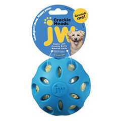 JW Crackle Ball Large blue