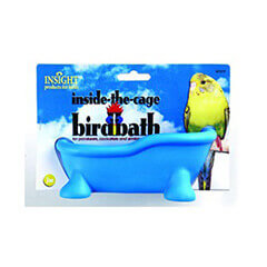 JW Pet Company Insight Inside the Cage Bird Bath Bird Accessory (Assorted)