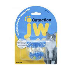 JWPet Cataction Fish Ball, Cat Toy
