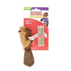 KONG Beaver Refillable Catnip Toy