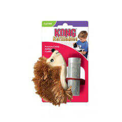 KONG Refillables Hedgehog Catnip Cat Toy