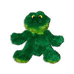 KONG Sitting Frog Dog Toy, Small