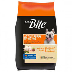 Let's Bite Active Puppy Dog Food- 1.2 KG