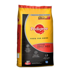 Pedigree Professional Active Adult Premium Dog Food- 10 KG