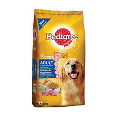 Pedigree Adult Chicken and Vegetables Dog Food, 10 KG Pack