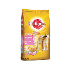 Pedigree Puppy Dog Food Chicken & Milk- 15 KG