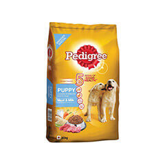 Pedigree Puppy Dog Food Meat and Milk- 20 KG