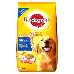 Pedigree Adult Dog Food Chicken and Vegetables- 10 KG