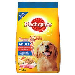 Pedigree Adult Dog Food Chicken & Vegetables- 1.2 KG