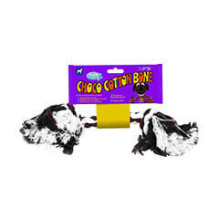 Pet Brands Choco Cotton Bone (Medium)