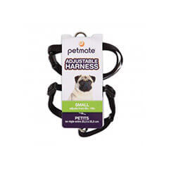 Petmate Adjustable Core Harness 14inch Small (Black)