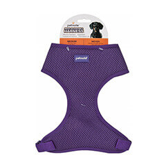 Petmate Adjustable Standard Core Mesh Harness Medium (purple)