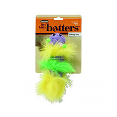 Petmate Itty Bitty Batters Caterpillar Toy for Cats