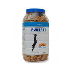 Purepet Biscuits With Milk Flavor 1 Kg