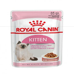 Royal Canin Kitten Instinctive 85 gm pouches (Pack of 12) Cat Wet Food