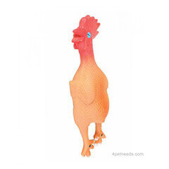 Trixie Chicken Latex Toy, 23 cm