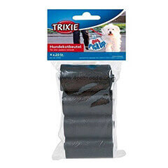 Trixie Dog Dirt Pick-Up Bags Black 80 Bags