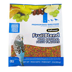 ZuPreem Fruit Blend with Natural Fruit Flavors Small 0.907 kg