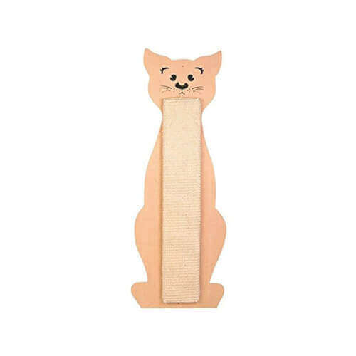 Trixie Cat Scratching Board Cat-Shaped