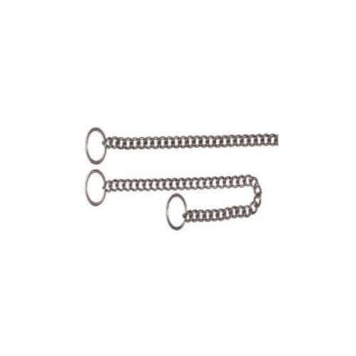 Trixie Choke chain, stainless steel, 25