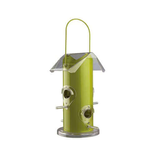 Trixie Outdoor Bird Food Dispenser, Metal In Silver