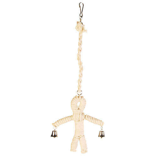 Trixie Sisal Man Natural Toy for Birds 41 cm