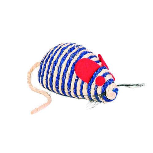 Trixie Sisal Mouse Cat Toy, 10 cm multicolor