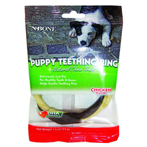 Twistix N-Bone Puppy Teething Ring Chicken Flavor, 34 g