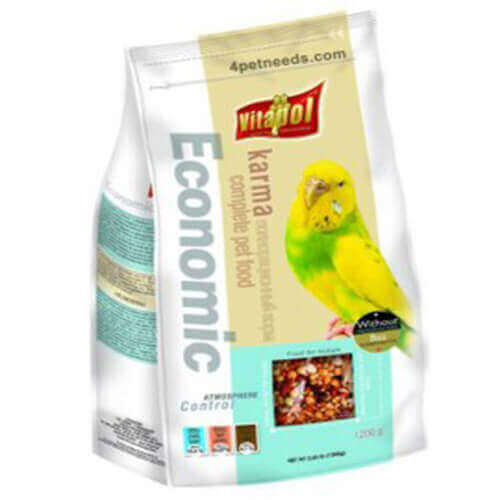 Vitapol Economic Food for Budgies ,1200g