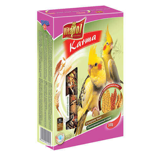 Vitapol Food For Cockatiel - 500 gm