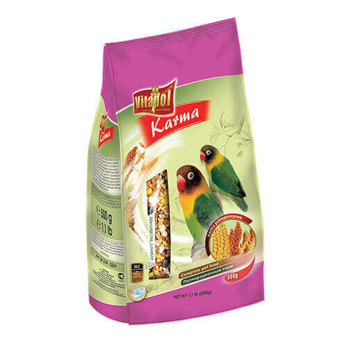 Vitapol Food For Lovebird - 500 Gms