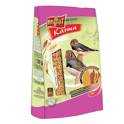 Vitapol Food For Zebra Finch - 500 gm