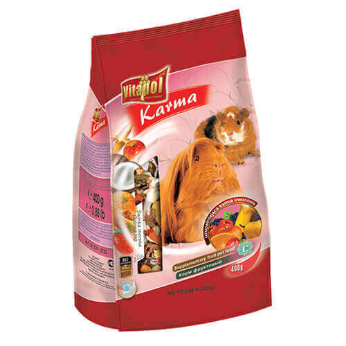 Vitapol Fruit Food For Guinea Pig - 400 gm