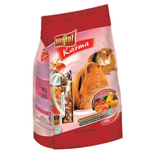 Vitapol Fruit Food For Guinea Pig - 400 gm