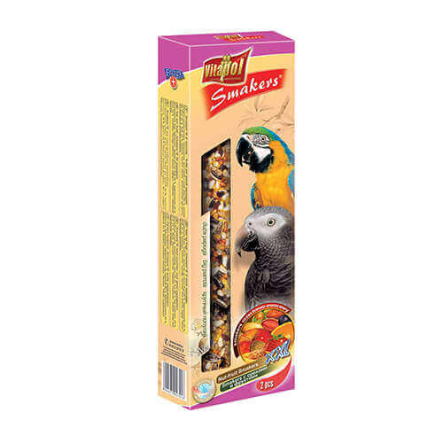 Vitapol Smakers XXL with Nuts and Fruit for Large Parrot, 250g